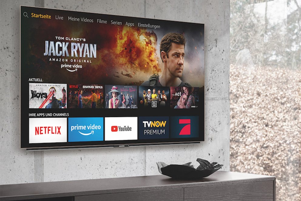 Amazon TV Fire OS